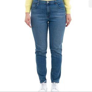 NWT J brand high waist cigarette jeans size 32